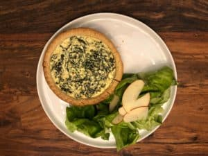 Kale and Ricotta Tarts by Blue Apron