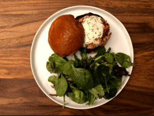 Yummy Salmon Burgers by Plated