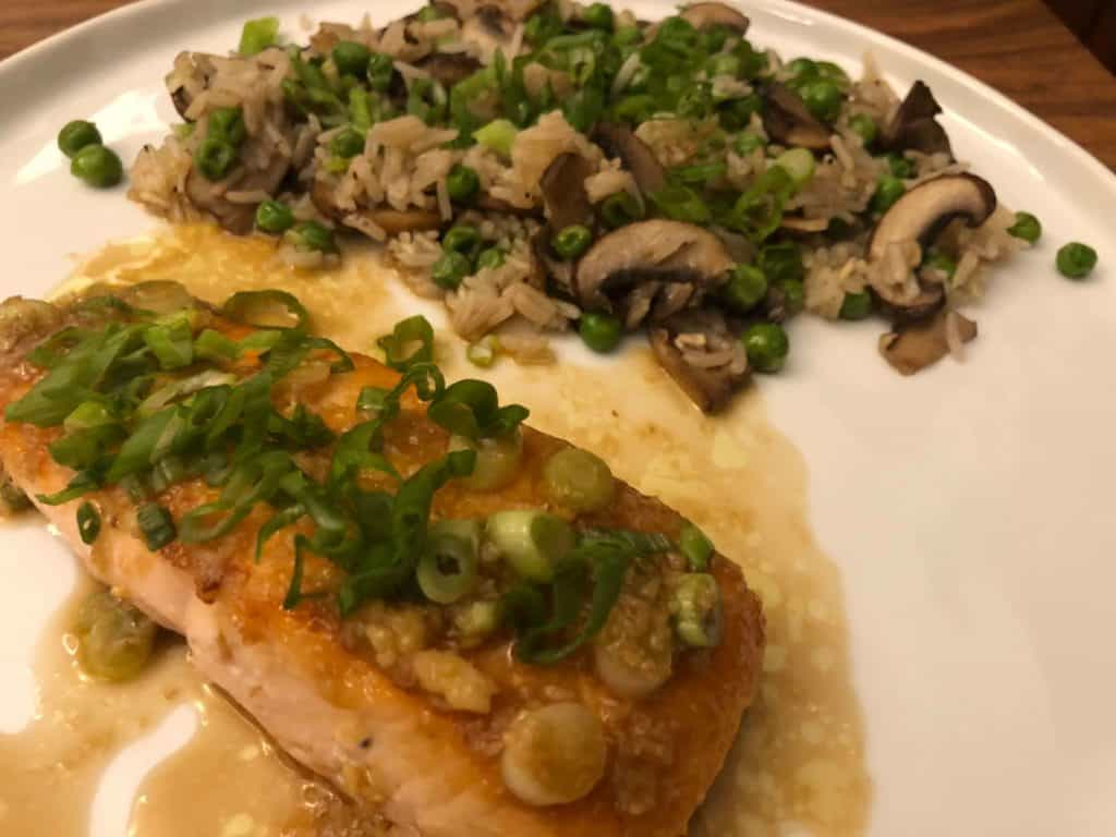 Ginger Ponzu Salmon by Home Chef