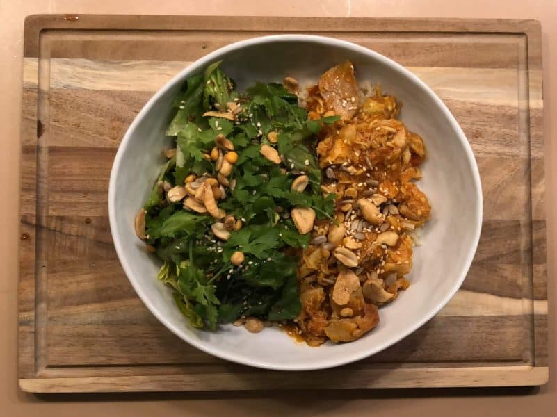 Burmese Shredded Chicken By Gobble