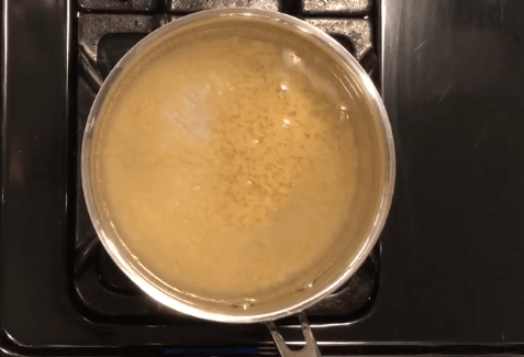 Cooking the orzo