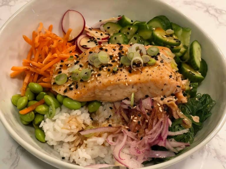 Salmon Donburi Bowl by Amazon Meal Kits
