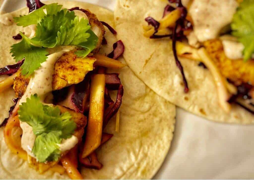 Tropical Fish Tacos by HelloFresh