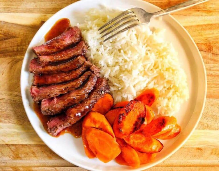 Japanese Sirloin Steak Home chef