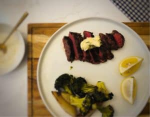 Parisian Steak Frites by Blue Apron