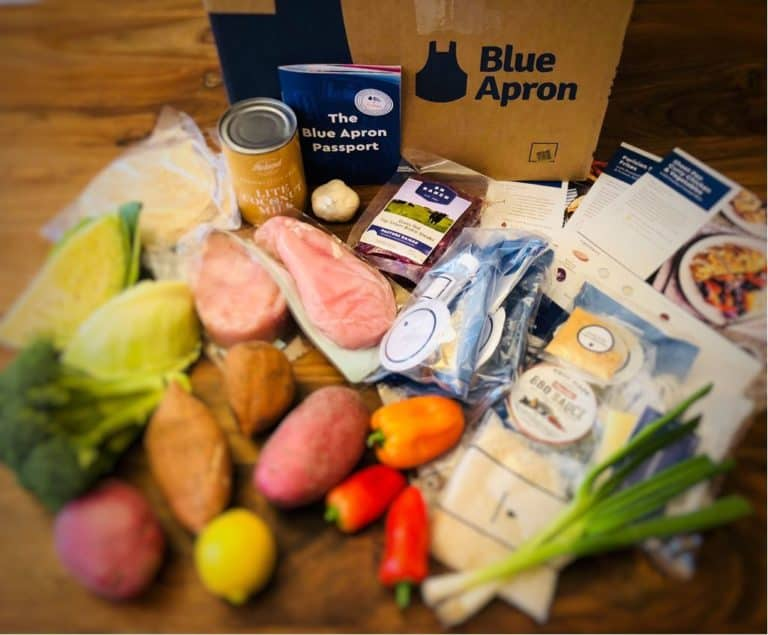 Blue Apron products