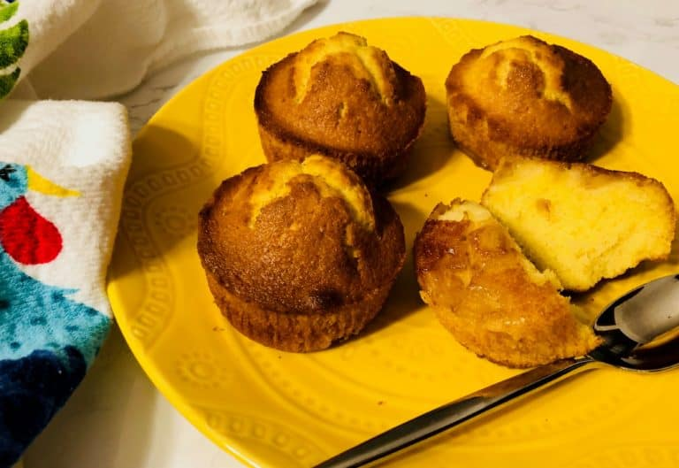 Pineapple Upside Down Cakes by Plated