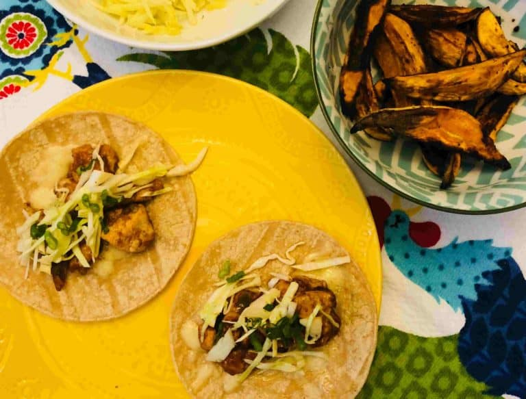 BBQ Chicken Tacos by Blue Apron