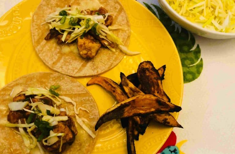 BBQ sauce Tacos by Blue Apron