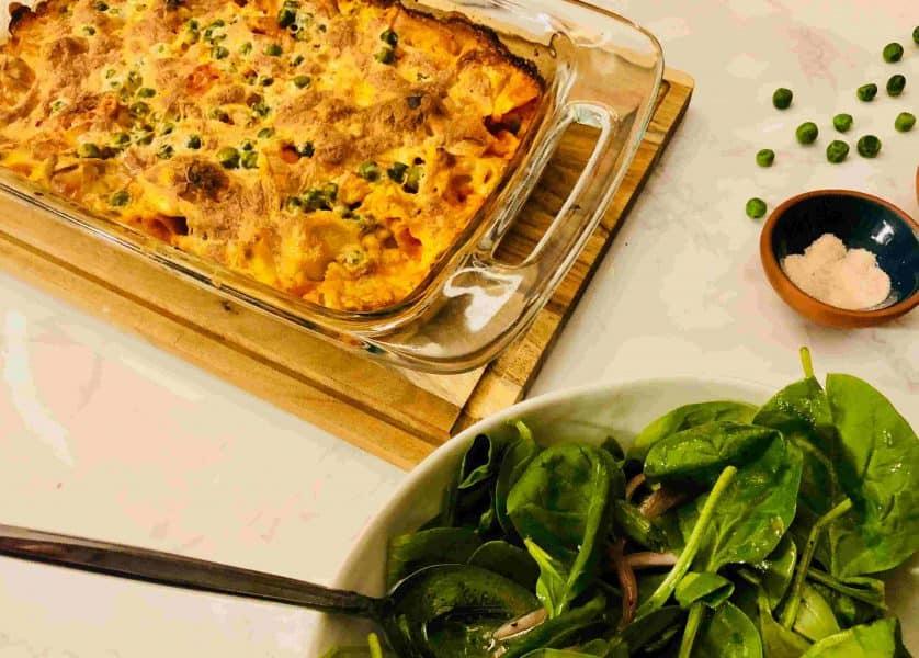 Creamy Tortellini Casserole by Martha & Marley Spoon
