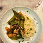 Spicy Chicken & Snow Pea Stir-Fry