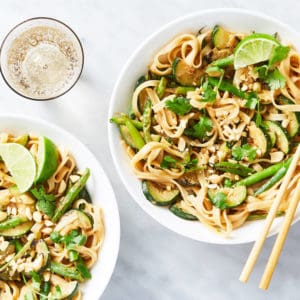 Coconut-Peanut Rice Noodles