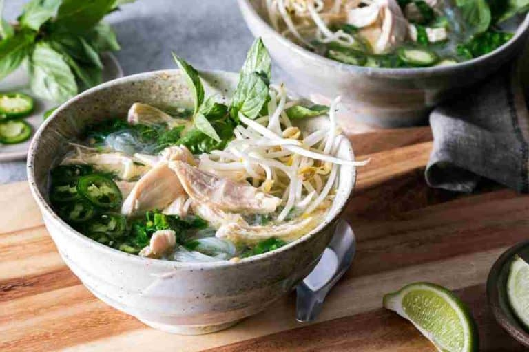 Vietnamese chicken noodle soup-compressed