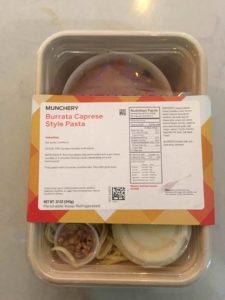 Burrata Caprese Style Pasta by Munchery