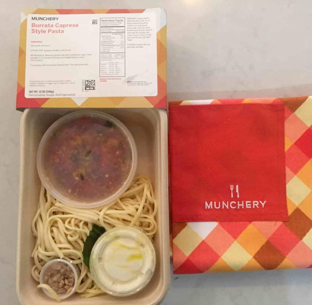 Burrata Caprese Pasta By Munchery