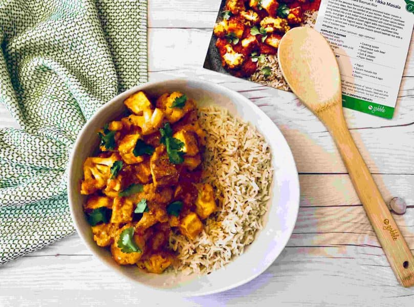 Paneer & Cauliflower Tikka Masala by Gobble