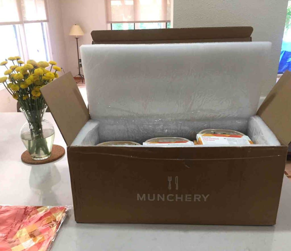 Munchery review 2018- Inside Box
