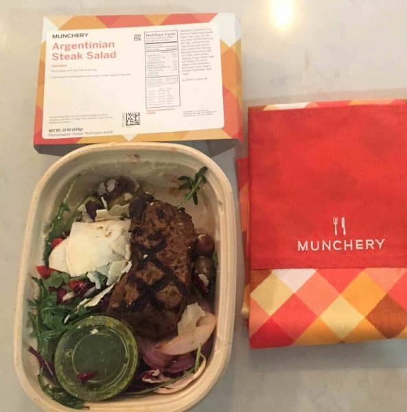 Argentinian Steak Salad By Munchery