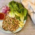 Fast Thai Chicken Lettuce Cups By Sun Basket