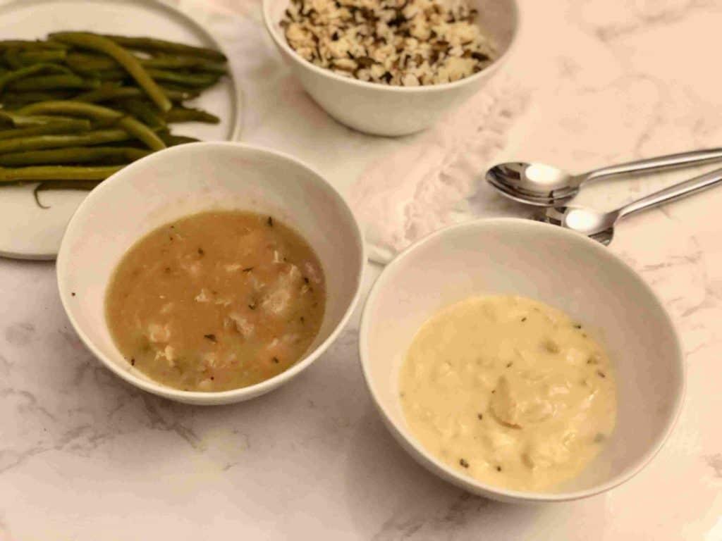 Chicken tarragon & Lemon chicken with artichoke by Babeth's Feast