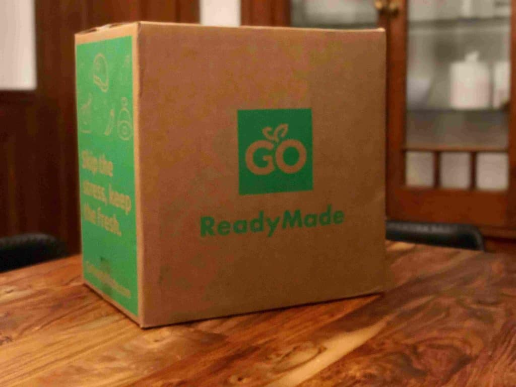 GoReadyMade Box Delivery