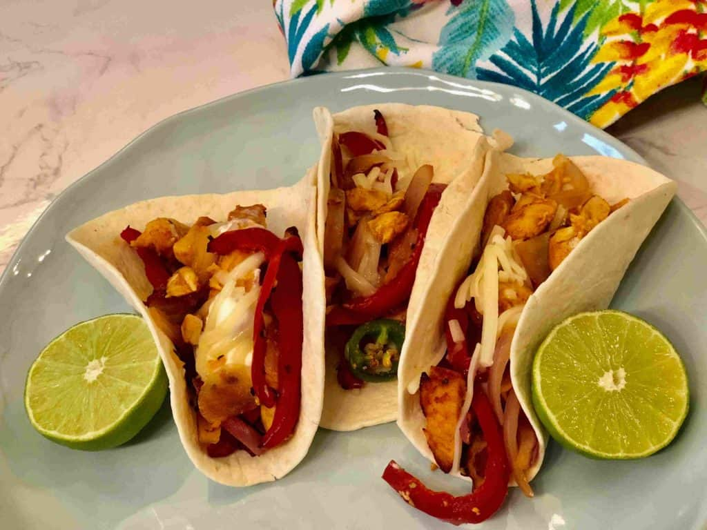 Smokey chicken fajitas by GoReadyMade