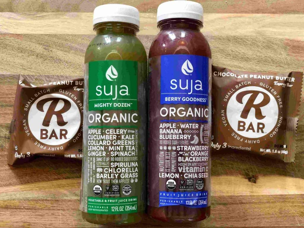 Suja juice and K bar