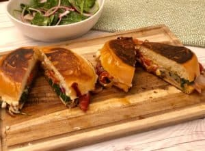 Dinnerly Recipe Review: Roasted Red Pepper Panini
