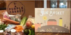 Sun Basket vs Purple Carrot