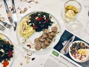Sausage & Mashed Acorn Squash by Green Chef: Review