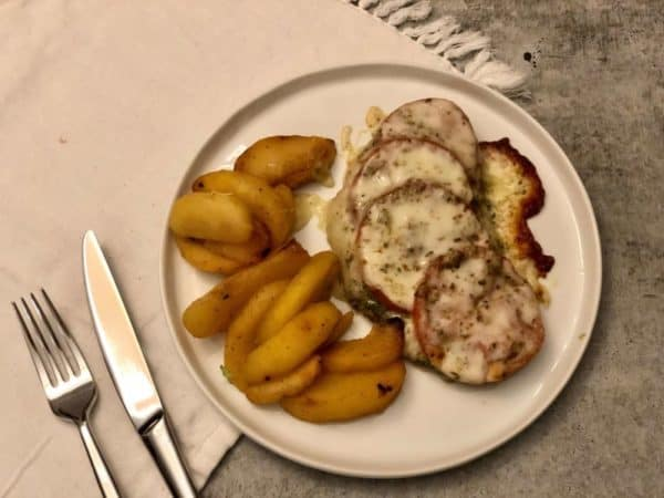 Tomato Pesto Meltovers with sweet apples by Diet to Go – Review