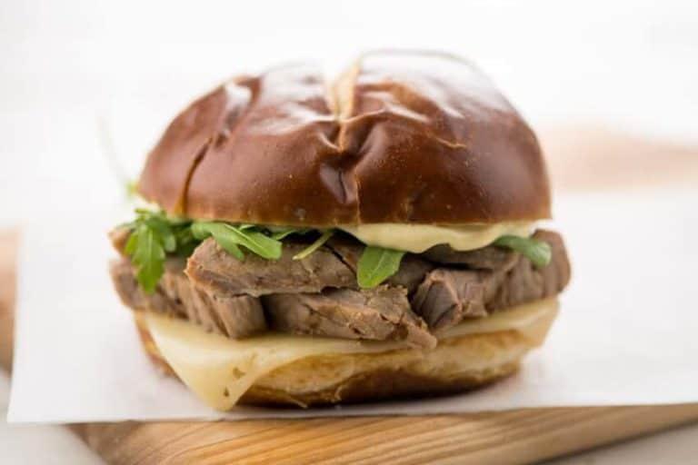 Dijon Steak and Swiss Sandwich by Home Chef