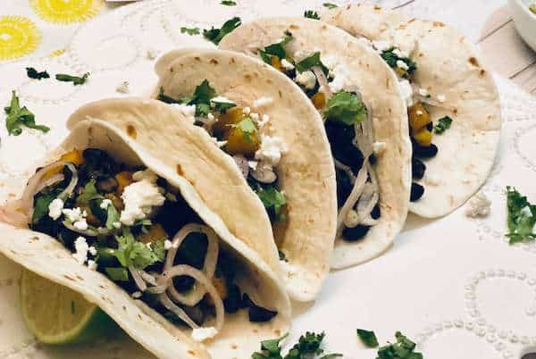 Spicy Plantain and Black Bean Taco by Home Chef