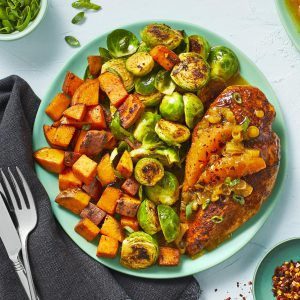 Orange-Glazed Chicken