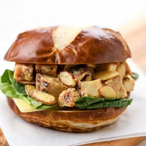 Honey Mustard Chicken Salad Sandwich