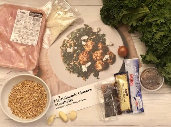 Review: Fig-Balsamic Chicken Meatballs by Plated