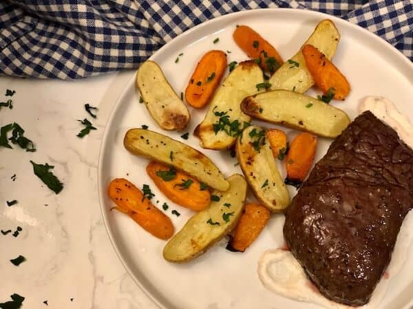 Review: Balsamic-Marinated Steak by Plated