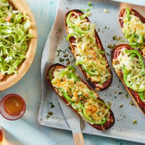 Fajita French Bread Pizza