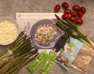 Mediterranean Baked Veggies by Hello Fresh