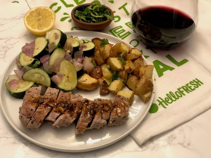 Review: Roasted Pork Tenderloin by Hello Fresh