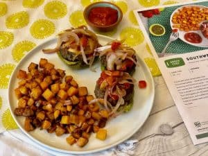 Southwest fajita burgers green chef review