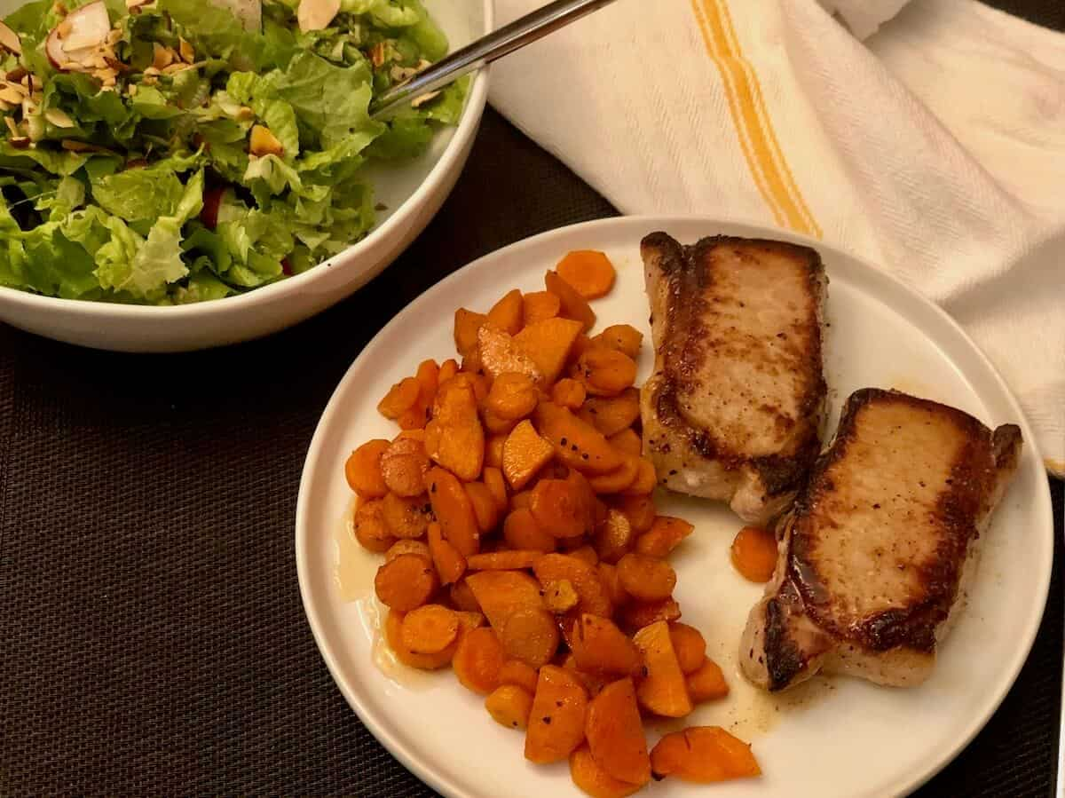 Review; Harissa-Glazed Pork Chop by Green Chef