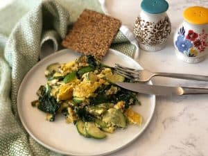Scrambled Eggs with Asparagus By PlateJoy