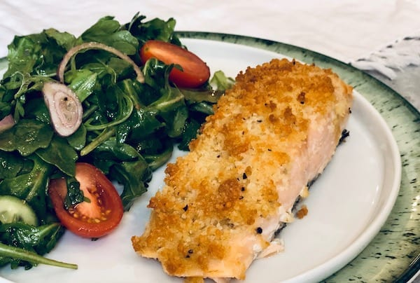 Parmesan Crusted Salmon by Home Chef