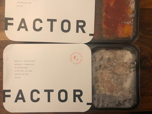 Factor 75 review- dishes