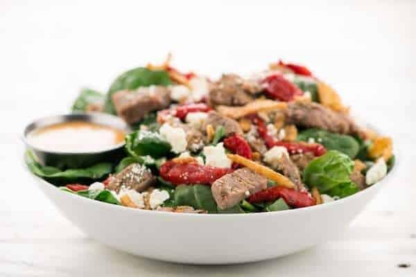 Home Chef Mediterranean Steak & Feta Salad