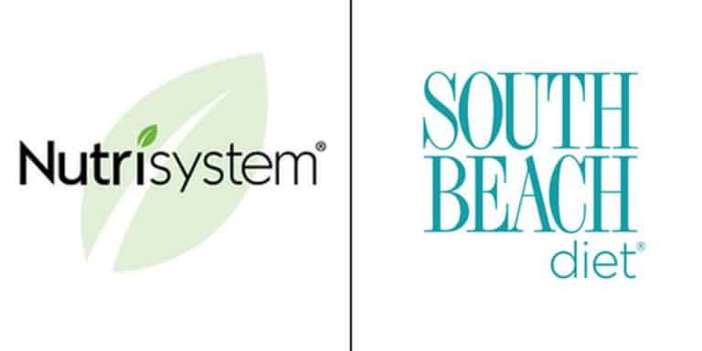 nutrisystem vs south beach diet