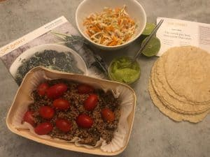 Santa Monica Quinoa and Black Bean Tacos Sun basket
