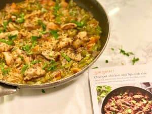 Sun Basket One-Pot Chicken and Spanish Rice