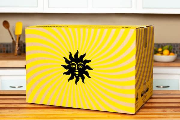 sunbasket meal box